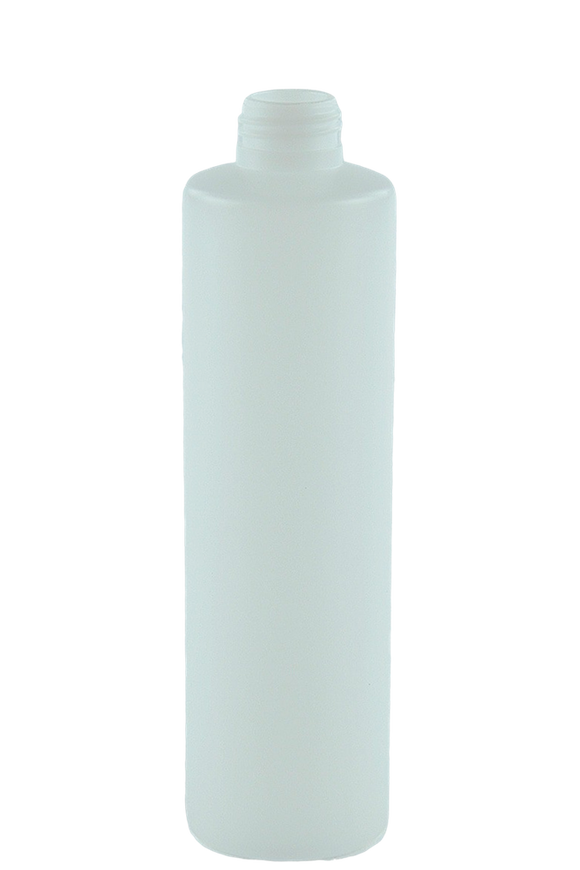 Bottle 250mL VP Pillar 24/410 Natural HDPE