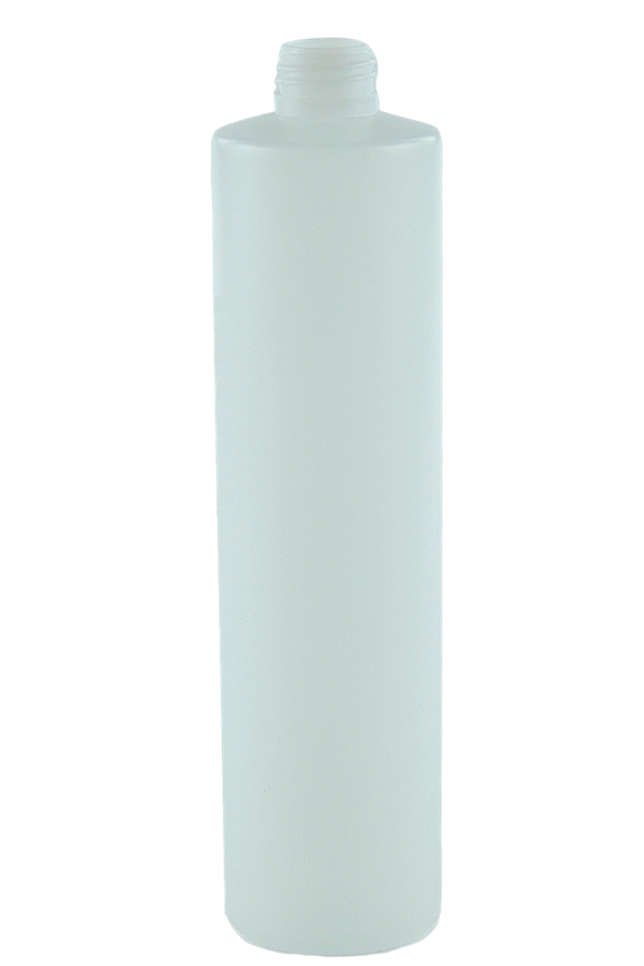 Bottle 375mL VP Pillar 24/410 Natural HDPE