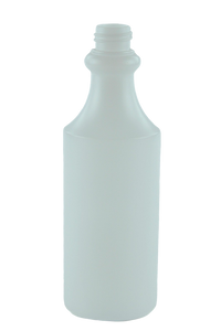 Bottle 500mL VP Round Trigger 28/410 Natural HDPE