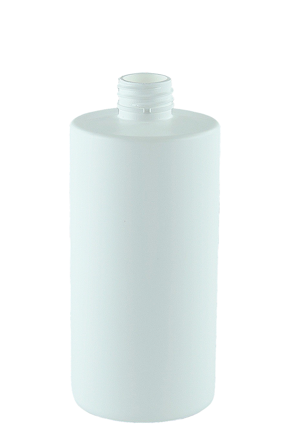 Bottle 500mL VP Epoch 28/410 White HDPE