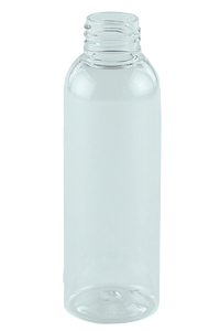 Bottle 125mL LAX Tall Boston 24/410 Clear RPET (100% PCR)