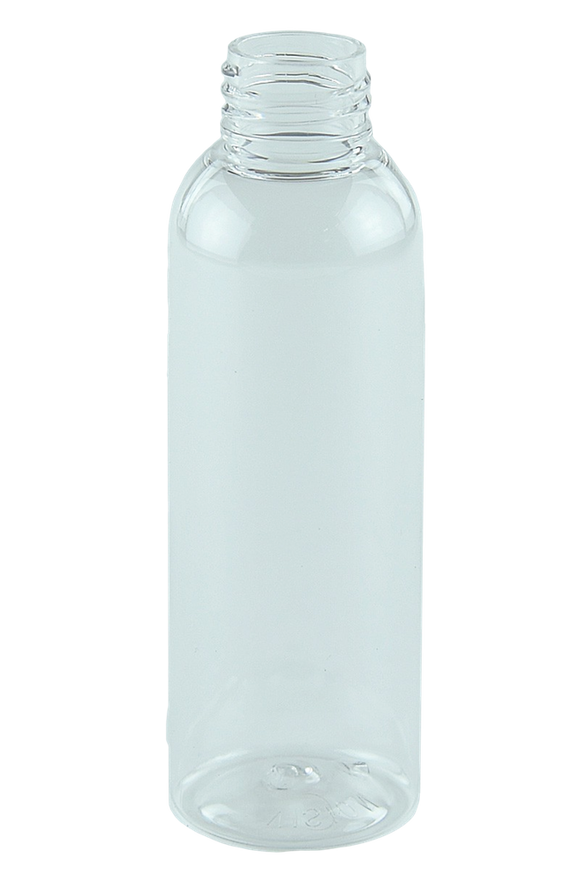 Bottle 125mL LAX Tall Boston 24/410 Clear RPET (30% PCR)