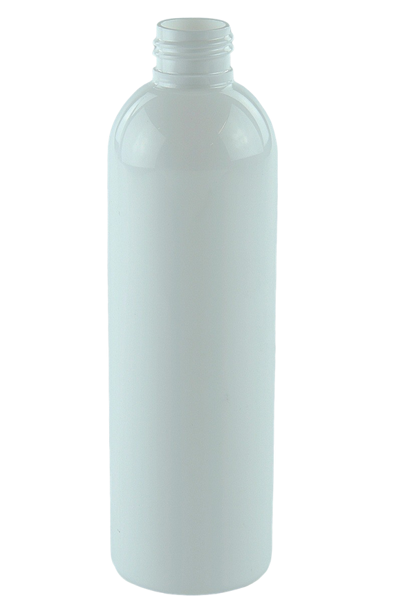 Bottle 250mL LAX Tall Boston 24/410 WhiteSolid PET