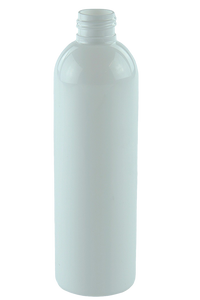Bottle 250mL LAX Tall Boston 24/410 White RPET (30% PCR)