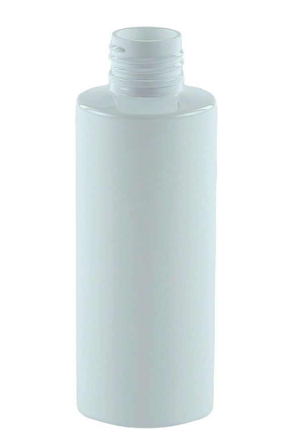Bottle 125mL VP Cylinder 24/410 White RPET (30% PCR)