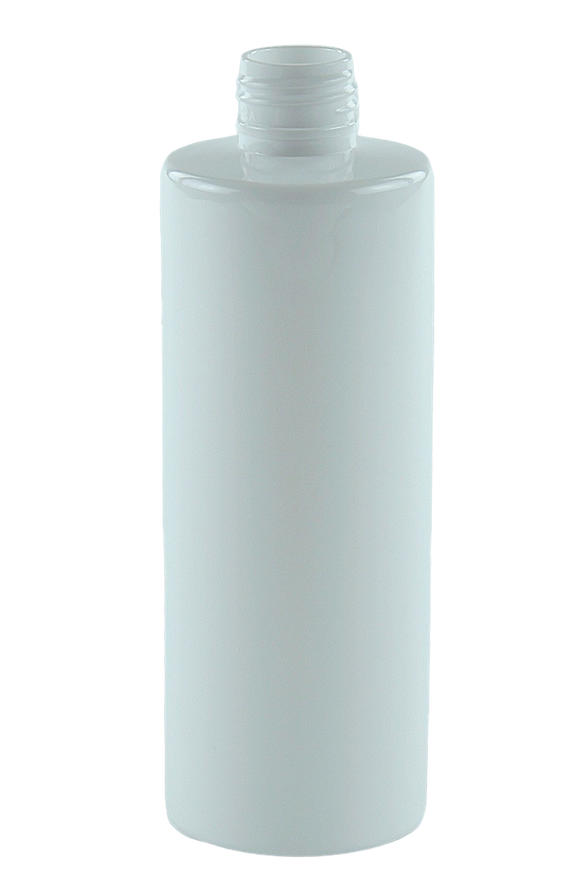 Bottle 250mL VP Cylinder 24/410 WhiteSolid PET