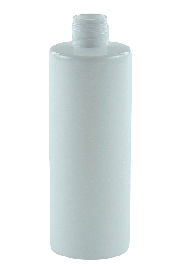 Bottle 250mL VP Cylinder 24/410 White RPET (30% PCR)