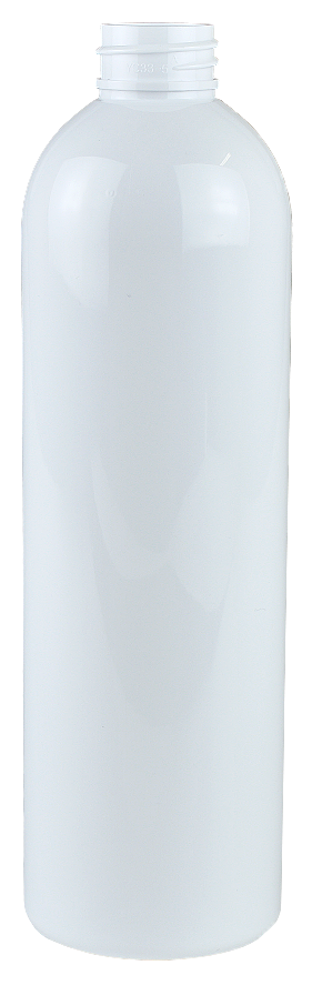 Bottle 500mL LAX Tall Boston 28/410 White RPET (30% PCR)