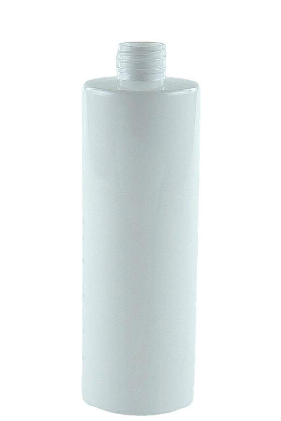 Bottle 500mL VP Cylinder 28/410 White RPET (30% PCR)