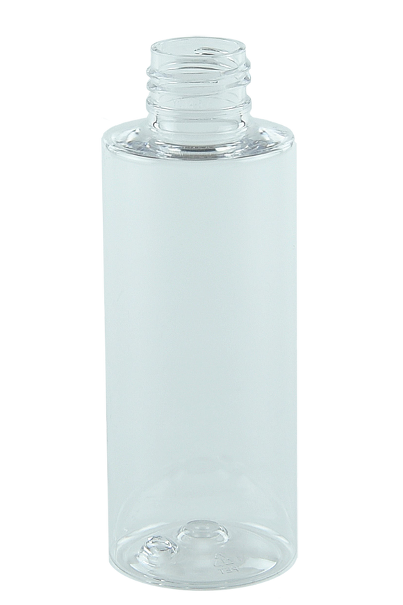 Bottle 125mL VP Cylinder 24/410 Clear RPET (30% PCR)