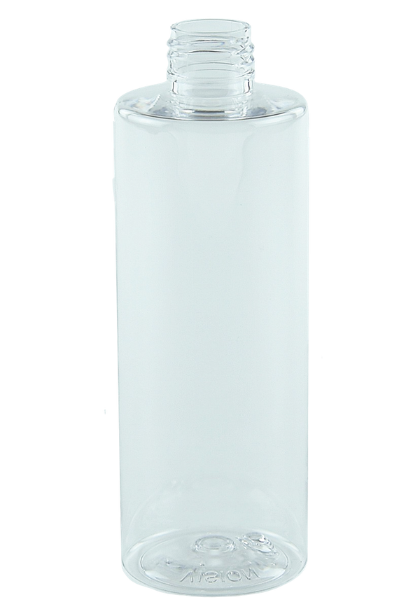 Bottle 250mL VP Cylinder 24/410 Clear RPET (30% PCR)