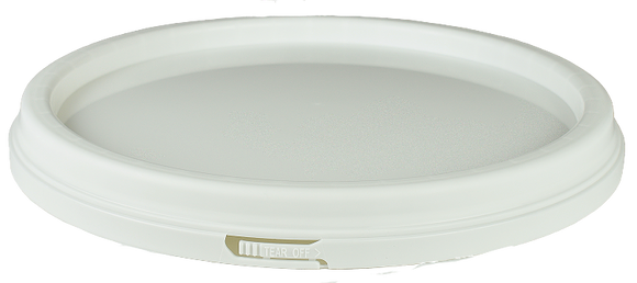 Lid (for 15Ltr Pail) White LDPE TAMPER-EVIDENT