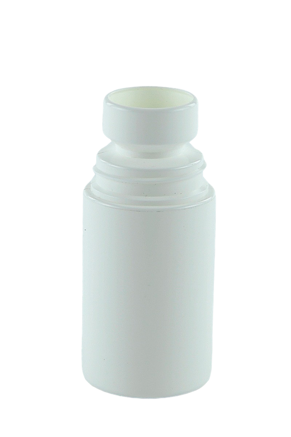 Bottle 60mL Roll-on White PP
