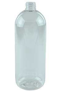 Bottle 1Ltr Tall Boston 28/410 Clear PET