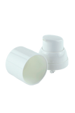 APJY Airless Lotion Pump WHOC (for Bot 50mL Tall Snow) White + Overcap WHITE