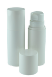 Airless Bottle 200mL Ava Snow White