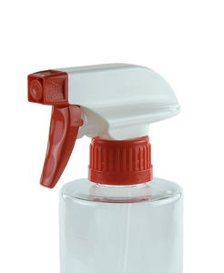 TSZ Trigger Spray DUO 28/410E Red/White 245dt fbog Ribbed-Wall
