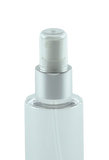 TPZ Treatment Pump AZK30131 24/410 White with Shiny-Silver Sleeve 185dt fbog + OverCap Clear Domed