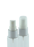 FMZ Fine Mist Spray 20/410 White with Matte-Silver sleeve 240dt fbog + Overcap Clear Domed