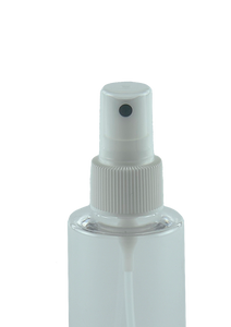 HVFMZ High-Viscosity Fine Mist Spray 24/410 White 230dt fbog Ribbed-Wall + Overcap Clear
