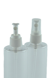 WSZ Wet Spray 24/410 White 205dt fbog + Overcap Square Clear PP diptube