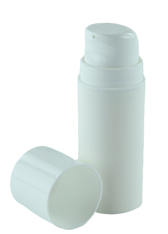 Airless Bottle 30mL Ava Snow White Snap-Neck