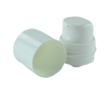 APZ Airless Lotion Pump WHOC (for Bot 15 - 30mL Snow) White + White Collar + Overcap WHITE