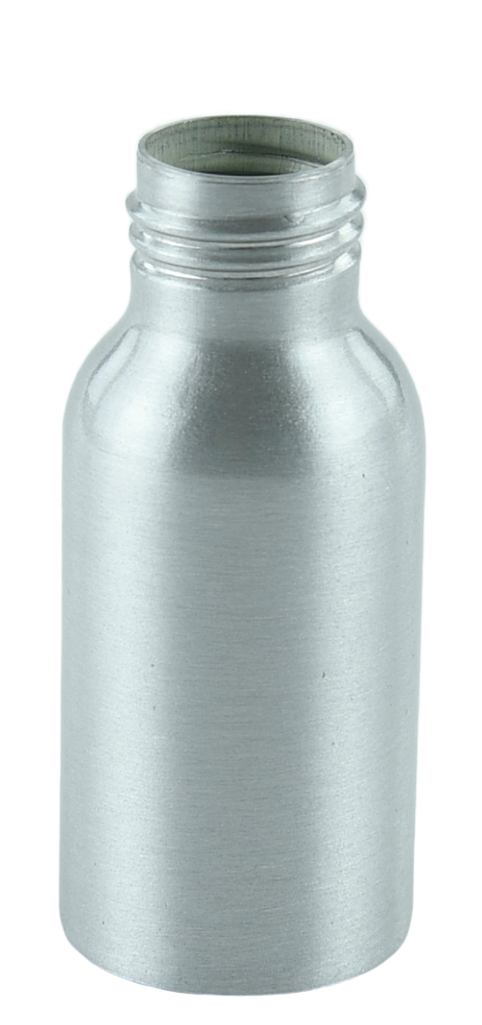 Bottle 50mL Alf Tall Boston 24/410 Silver-Original Aluminium