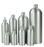 Bottle 150mL Alf Tall Boston 24/410 Silver-Original ALUMINIUM