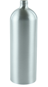 Bottle 1Ltr Alf Tall Boston 24/410 Silver-Original Aluminium
