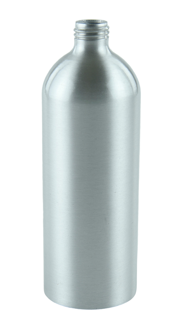 Bottle 500mL Alf Tall Boston 24/410 ALUMINIUM Lotion Bottle