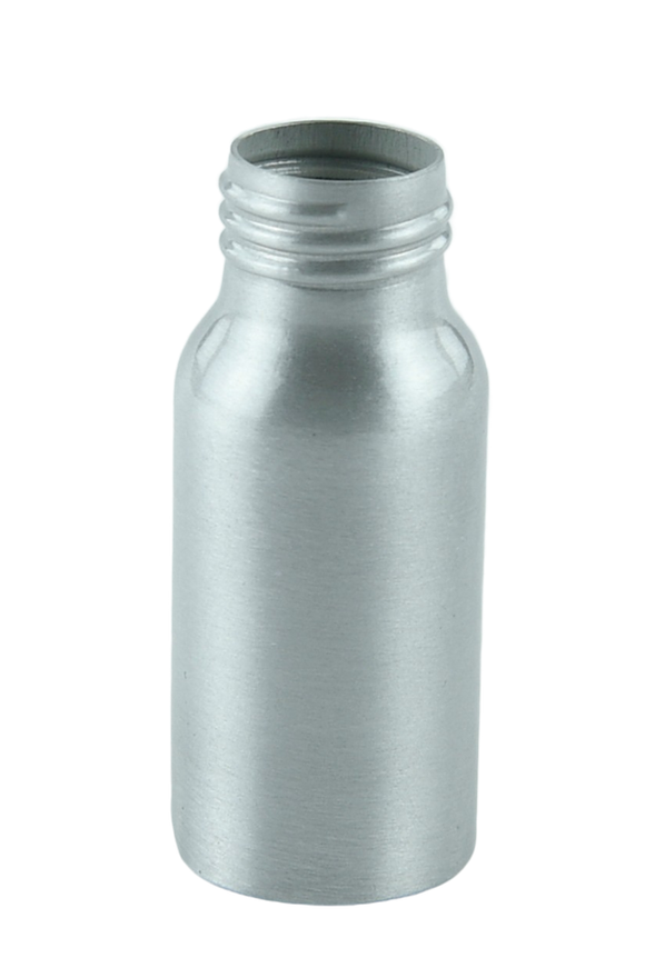 Bottle 30mL Alf Tall Boston 24/410 Silver-Original Aluminium