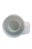SCSL Screw Cap 24/410 White 48mm Double-Wall + Wad