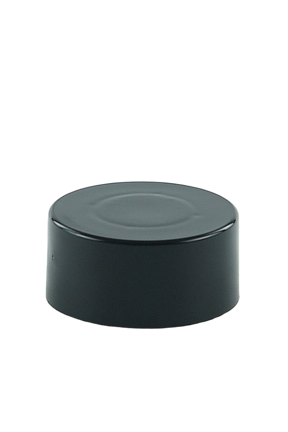 SCSL Screw Cap 24/410 Black 48mm Double-Wall + Wad
