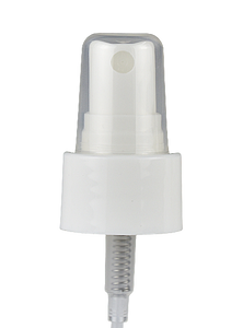 FMWY Fine Mist Spray P02-A 24/410 White 235dt fbog Smooth-Wall + Overcap Clear Domed