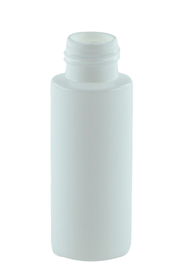 Bottle 60mL VP Pillar 24/410 White HDPE
