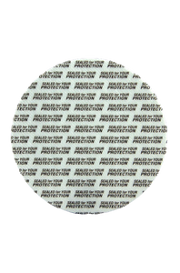 Wad PS22 83mm pressure sensitive printed