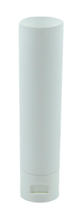 Tube 50mL White Gloss EVOH with Induction Seal 30 x 105mm + Flip Top White Gloss