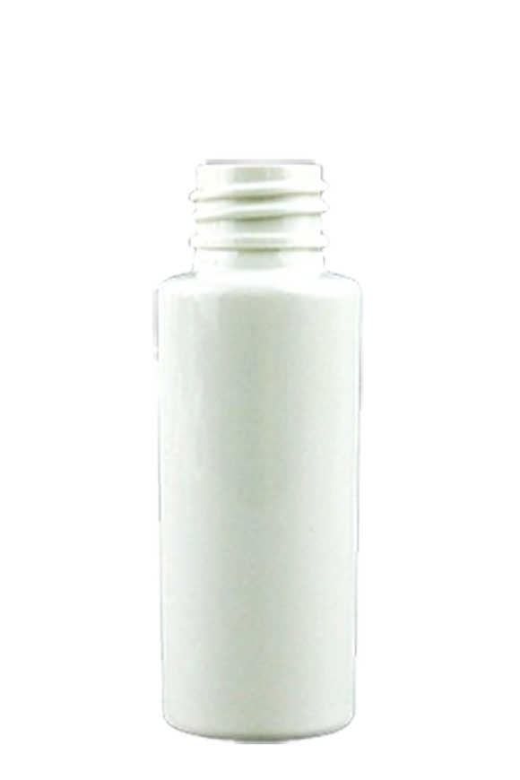 Bottle 30mL VP Cylinder 20/410 White PET