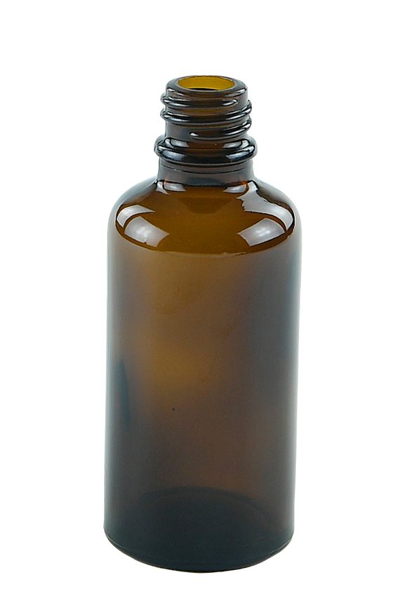 Bottle 50mL Aroma 18/410 AmberTint  Glass