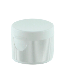 FTSM Flip Top 28/410 White Ribbed-Wall Butterfly-Hinge 3.20mm orifice