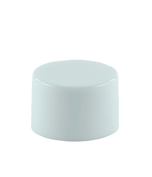 SCYX Screw Cap 24/410 White Smooth-Wall + PE Wad