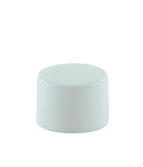 SCYX Screw Cap 20/410 White Smooth-Wall + PE Wad