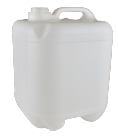 Cube 20Ltr Natural Drilled & Bunged - No Cap