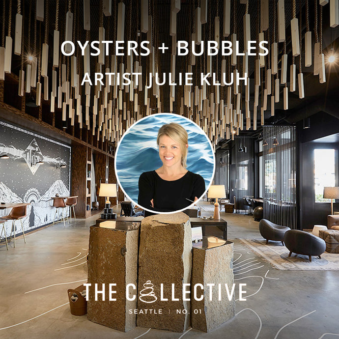 Oysters + Bubbles + Art Event at The Collective Seattle