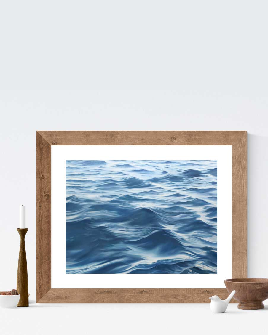 Ocean art decor home Art by Julie Kluh