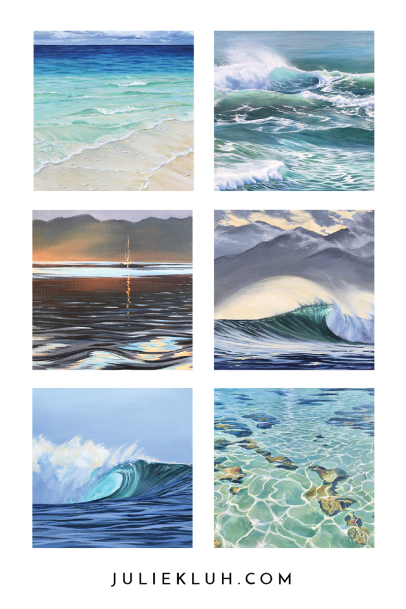 Julie Kluh Art Originals September 7th Art Show Olympia Artist Water
