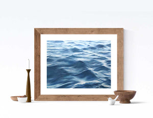 Calming water artwork surface art