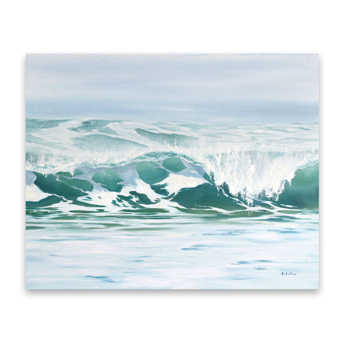 Exhale | Ocean Wave Art Prints