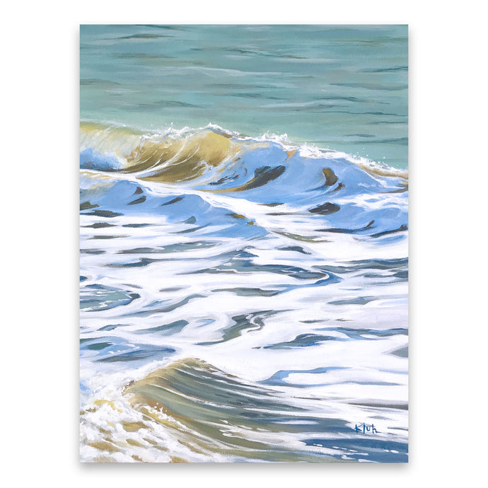 Flow | Ocean Waves Art Prints